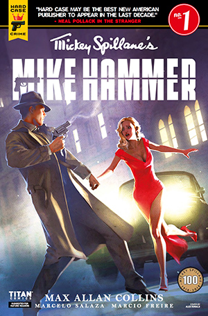 Mickey Spillane's Mike Hammer, Issue #1, Cover B, Alex Ronald