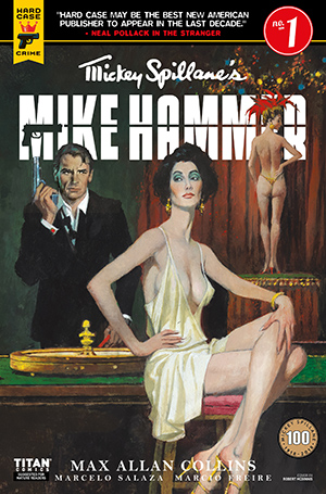 Mickey Spillane's Mike Hammer, The Night I Died, Issue #1, Cover A, Robert McGinnis