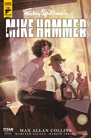 Mickey Spillane's Mike Hammer, The Night I Died, Issue #2, Cover A, Fay Dalton