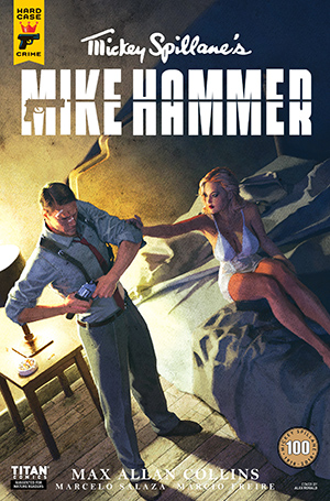 Mickey Spillane's Mike Hammer, The Night I Died, Issue #3, Cover A, Alex Ronald