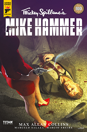 Mickey Spillane's Mike Hammer, The Night I Died, Issue #4, Cover A, Alex Ronald