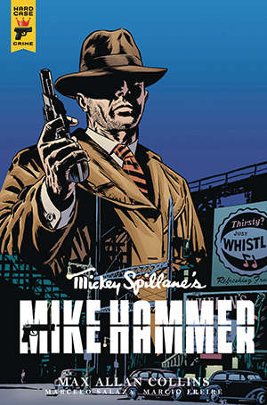Mickey Spillane's Mike Hammer, The Night I Died, Issue #4, Cover B, Simone Guglielmini
