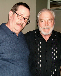 Mike Cornelison with Stacy Keach
