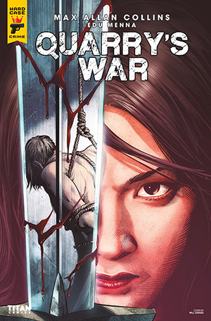 Quarry's War, Issue #2, Cover A, Will Conrad