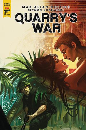 Quarry's War, Issue #2, Cover B, Claudia SG Ianniciello