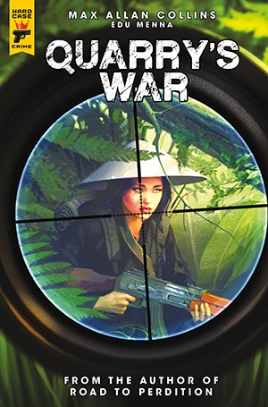 Quarry's War, Issue #3, Cover A, Alex Ronald