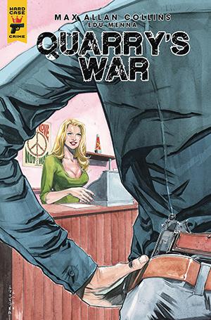 Quarry's War, Issue #3, Cover B, Ricardo Drumond