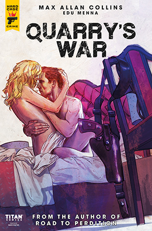 Quarry's War, Issue #4, Cover A, Mack Chater