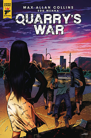 Quarry's War, Issue #4, Cover B, Alex Ronald