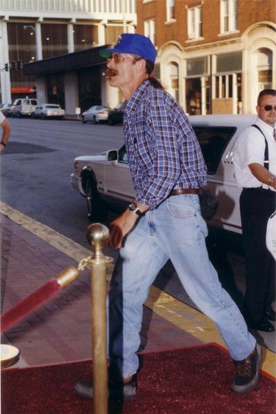 Steve at Premiere