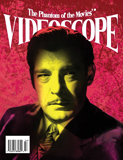 Cover of VideoScope magazine